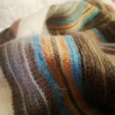Beautiful alpaca blanket from Ecuador @AndinaTreasure