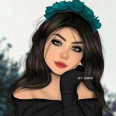 Best Friend Drawings, Girly Drawings, Girl Cartoon, Cartoon Art, Girly M Instagram, Sarra Art, Lovely Girl Image, Zeina, Cute Girl Drawing