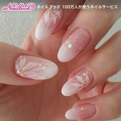 Wedding Nails For Bride, Bride Nails, Cute Spring Nails, Cute Nails, Marble Nail Designs, Nail Art Designs, Pink Nails, Gel Nails, Acrylic Gel