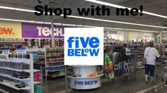 Shop with me - Five Below | EastCoastMess