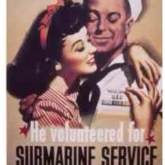 My sailor volunteered for submarine service :(