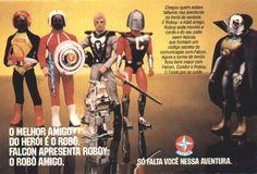 """Reportagem lançamento da Estrela do Boneco Falcon em 1977,   """"boneco pode ser vendido com ou sem barba com corpo articulado"""":    reco..."""