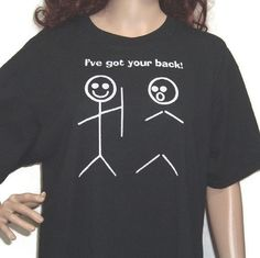 Funny t-shirt. :) Clean humour.