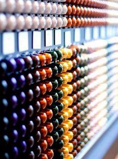 "multi-couleur Tavola Swiss /""SPIRAL/"" Capsule Distributeur pour 40 Nespresso Capsules"