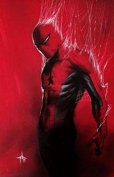 #Spiderman #Fan #Art. (Spider-Man) By: Gabriele Dell'Otto. (THE * 5 * STÅR * ÅWARD * OF: * AW YEAH, IT'S MAJOR ÅWESOMENESS!!!™)[THANK Ü 4 PINNING!!!<·><]<©>ÅÅÅ+(OB4E)