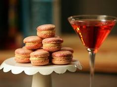 French Macarons with Salted Bourbon Caramel Buttercream