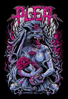Stunning Horror Art by Brandon Heart / Art & illustration