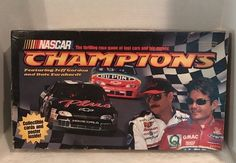Nascar Jeff Gordon & Dale Earnhardt NASCAR Champions Racing Board Game New  | eBay