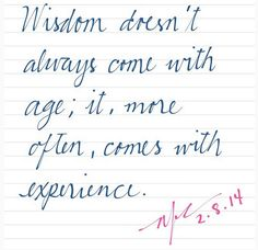 #LessonOfTheDay #wisdom #INKredible #quotes #handwriting #writing  Credit to misshalloween85: http://instagram.com/p/kKK4roohq4/