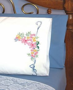 Pillowcases - Embroidery Patterns & Kits (Page 2) - 123Stitch.com