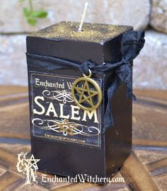 A Discovery Of Witches, Candle Accessories, Samhain, Old And New, Magick, New England, Enchanted, Decorative Boxes, Candles