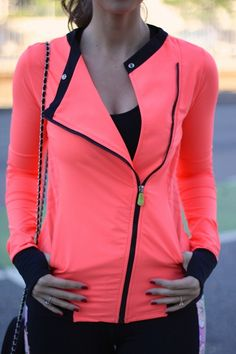 "projectfab: ""Sporting Around Town It's important to have cute athletic clothing that I can feel stylish wearing while running around town. I always shop at Marshalls for my athletic clothing because..."