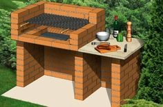 New ideas for backyard bbq brick outdoor fireplaces - Backyard Landscaping