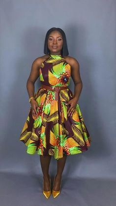 NEW IN :African clothing,African dresses,wax print dress,dashiki,java print dres… Remilekun - African Styles for Ladies African American Fashion, Latest African Fashion Dresses, African Print Dresses, African Print Fashion, African Dress, Women's Dresses, Vintage Dresses, African Attire, African Wear