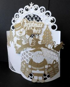 Christmas Wrap Card by silverst170 - Cards and Paper Crafts at Splitcoaststampers