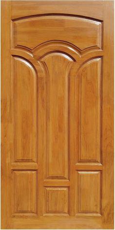 Teak Wood Main Door Design Entrance Indian Ideas For 2019 - wooden door design House Main Door Design, Wooden Front Door Design, Double Door Design, Room Door Design, Wood Front Doors, Door Design Interior, Wooden Doors, Indian Main Door Designs, Maine