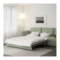 VALLENTUNA Sleeper sectional, 4-seat, Hillared green - - - IKEA. Once again, beige or light grey