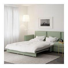 VALLENTUNA Sleeper sectional, 4-seat, Hillared green - - - IKEA. Once again, beige or light grey