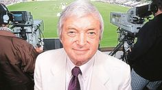 legend of both field and commentary box Richie Benaud