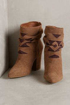 ON SALE Howsty Nalah Booties Taupe 41 Euro Boots #AnthroFave