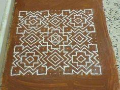 Simple and beautiful dotted Rangoli pattern