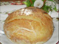 Moje pyszne, łatwe i sprawdzone przepisy :-) : Rewelacyjny chleb z garnka :-) Polecam-najlepszy :-) Yeast Bread, Bread Baking, Bread Recipes, Cooking Recipes, Feta Salad, Pina Colada, How To Make Bread, Sweet Bread, Hamburger