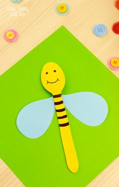 Wooden Spoon Bee Cra
