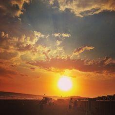 Sunset @ Mar del Plata, Argentina