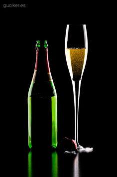 Fotografía de Producto. Bebidas cava