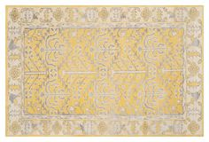 5'x8' Montague Rug, Yellow
