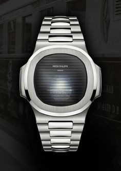 Patek Philippe Nautilus Smartwatch. By Designer Niklas Bergenstjerna.