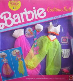 Barbie Costume Ball Fashions - Ball Gown or Genie (1990) Barbie http://www.amazon.com/dp/B001DKIKAI/ref=cm_sw_r_pi_dp_S8sBwb0T1CHQ3