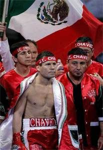 Julio Cesar Chavez: 107-6-2 (86 KO), 1980-2005. Boxing Champion of the Mexican people.