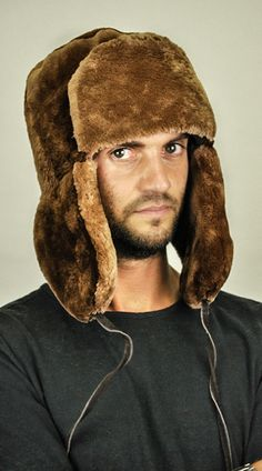 Cappello in pelliccia di castoro da uomo  www.amifur.it