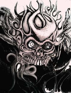 https://flic.kr/p/GXtRbU | Alien Skull