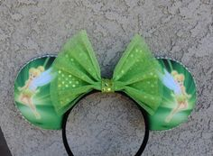 Tinkerbell Inspired - Minnie Mouse Disney Ears