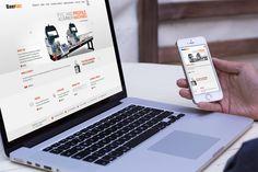 Baertec Machinery Yeni Responsive Web Sitesi tasarımı