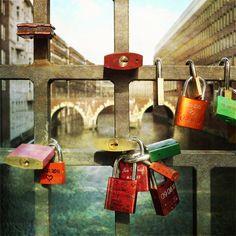 Hamburg City Photography  Love Locks Photograph by ZenzPhotography #fpoe