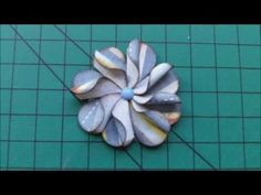 como hacer FLORES DE PAPEL 3D original - YouTube