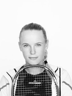 Caroline Wozniacki - WTA Portraits by Dewey Nicks for the Women's Tennis Association 2013 #WTA #Wozniacki