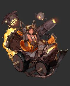 ArtStation - steampunk, WonJo Jung / HEX