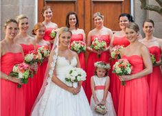 similar colour dresses to my bridesmaids