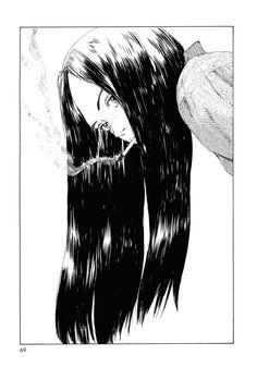 Memories of Emanon- Manga Manga Girl, Anime Art Girl, Anime Girls, Aesthetic Art, Aesthetic Anime, Bonne Nuit Punpun, Art Sketches, Art Drawings, 8bit Art