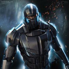 Mass Effect concept art by Hakan Hancer