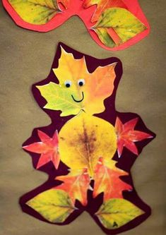 Leaf Man-Students go on a leaf hunt after reading Leaf Man by Lois Ehlert and then make their very own leaf man. Fall art for kids! Autumn Crafts, Autumn Art, Thanksgiving Crafts, Autumn Theme, Holiday Crafts, Fall Preschool, Preschool Crafts, Toddler Preschool, Art For Kids