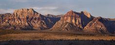 Mount Wilson and Rainbow Mountain in Nevada