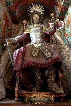 Santi delle catacombe - Scheletro delle Catacombe romane
