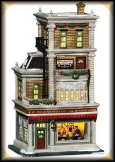 Woolworth's Store NEW Department Dept. 56 Christmas In The City Village CIC