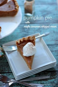 Pumpkin Pie with Map
