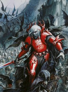 Warhammer - The Red Duke of Moussilon, Vampire Lord